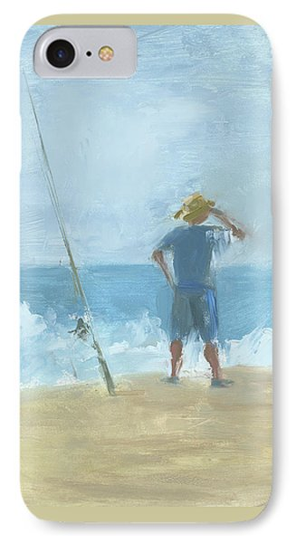 Surf Fishing IPhone Case by Chris N Rohrbach