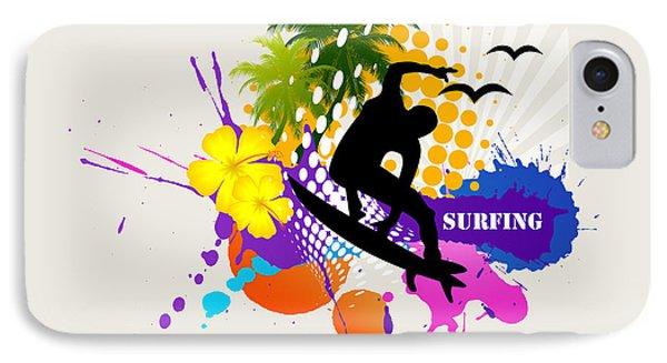 Surfing IPhone Case by Mark Ashkenazi