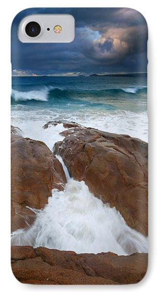 Surfs Up IPhone Case by Mike  Dawson