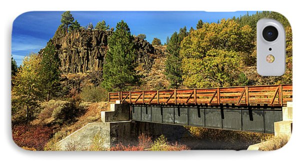 Susan River Bridge On The Bizz Phone Case by James Eddy