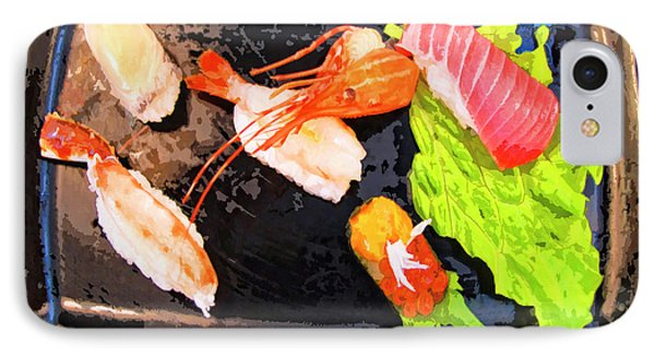 Sushi Plate 2 Phone Case by Dominic Piperata