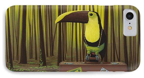 Suspenders IPhone 7 Case by Jasper Oostland