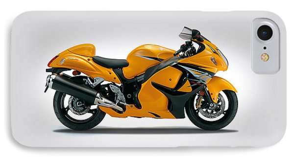 Suzuki Hayabusa 2014 IPhone Case by Mark Rogan