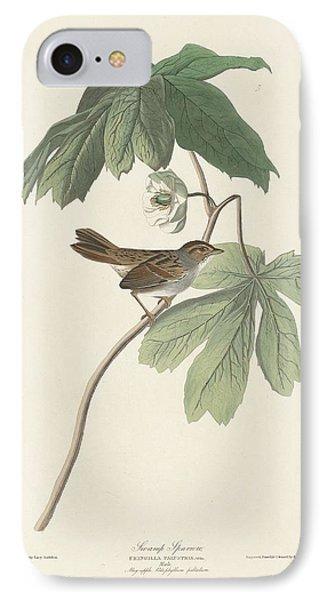 Swamp Sparrow IPhone Case by John James Audubon