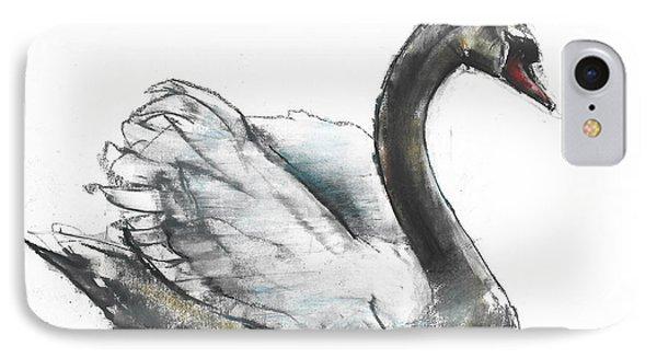 Swan IPhone Case by Mark Adlington