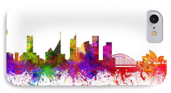 Sydney Australia Cityscape 02 IPhone 7 Case by Aged Pixel