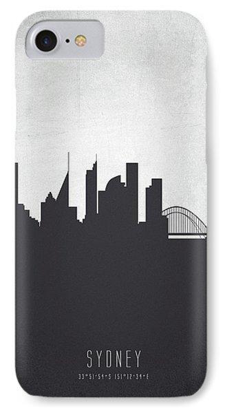 Sydney Australia Cityscape 19 IPhone 7 Case by Aged Pixel