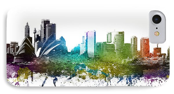 Sydney Cityscape 01 IPhone 7 Case by Aged Pixel