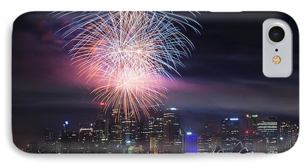 Sydney Fireworks IPhone Case by Matteo Colombo