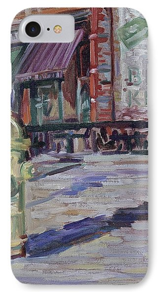 T # 31  Old Town Fire Hydrant IPhone Case by Ross Busby