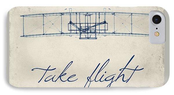 Take Flight IPhone Case by Brandi Fitzgerald