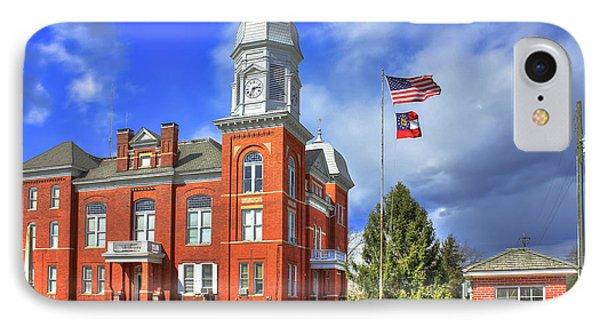 Taliaferro County Court House IPhone Case by Reid Callaway