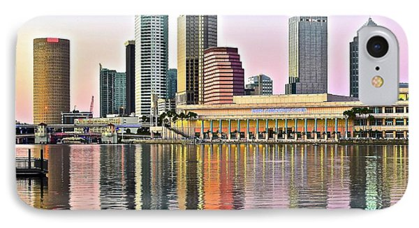 Tampa Bay Alive With Color IPhone Case by Frozen in Time Fine Art Photography