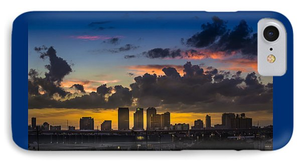 Tampa Sunset IPhone Case by Marvin Spates