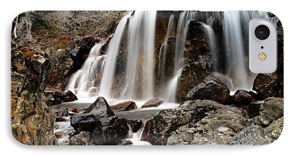 Tangle Falls Closeup 5 Phone Case by Larry Ricker