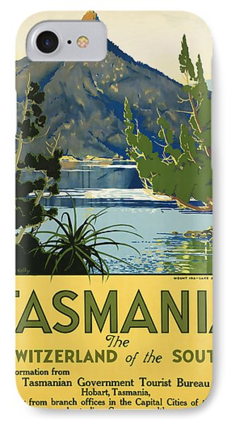 Tasmania_switzerland Of The South IPhone Case by David Wagner