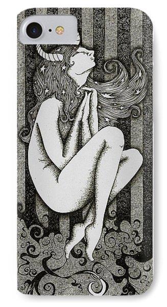 Taurus Phone Case by Zelde Grimm