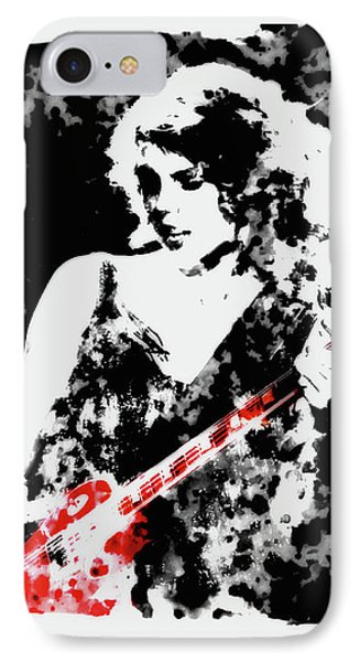 Taylor Swift 90c IPhone Case by Brian Reaves