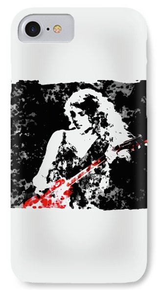 Taylor Swift 90c IPhone 7 Case by Brian Reaves