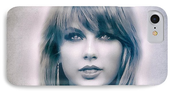 Taylor Swift - Beautiful IPhone Case by Robert Radmore