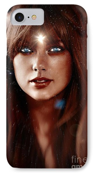 Taylor Swift - Goddess IPhone Case by Robert Radmore