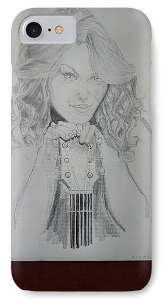 Taylor Swift IPhone Case by Jiyad Mohammed nasser