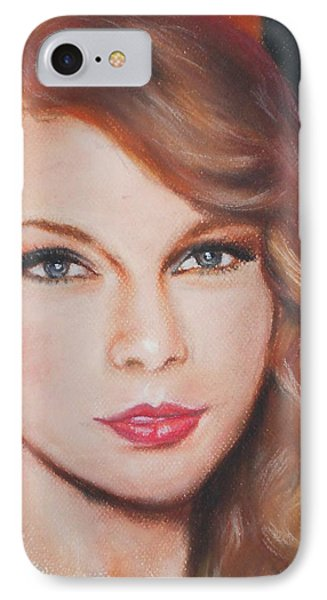 Taylor Swift  IPhone 7 Case by Ronnie Melvin