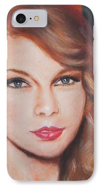 Taylor Swift  IPhone Case by Ronnie Melvin