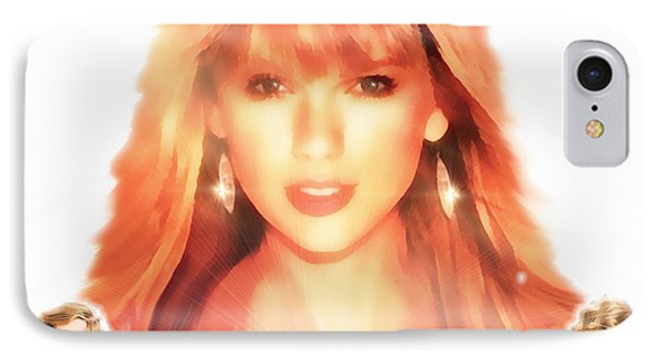 Taylor Swift - Stunning IPhone Case by Robert Radmore