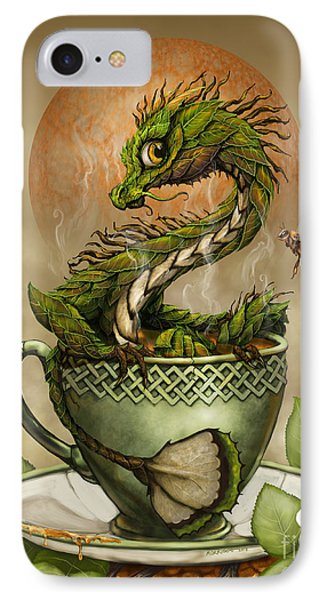 Tea Dragon IPhone 7 Case by Stanley Morrison