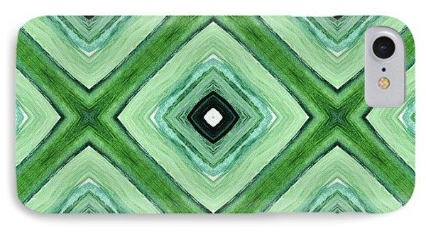 Tea Garden- Art By Linda Woods IPhone 7 Case by Linda Woods
