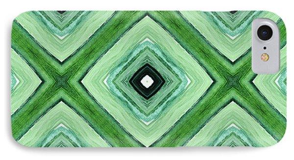 Tea Garden- Art By Linda Woods IPhone Case by Linda Woods