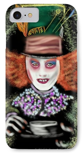 Tea Party? Alice  IPhone Case by Pat Carafa