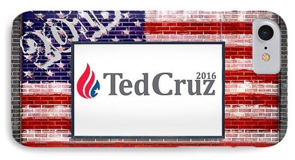 Ted Cruz For President IPhone Case by Antony McAulay