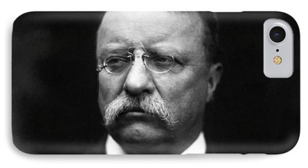 Teddy Roosevelt IPhone Case by War Is Hell Store