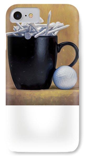 Tee Cup IPhone Case by Tom Mc Nemar