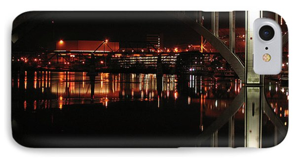 Tennessee River In Lights Phone Case by Douglas Stucky