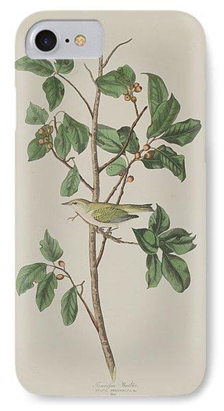 Tennessee Warbler IPhone Case by John James Audubon