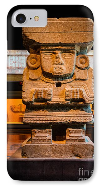 Teotihuacan Sculpture IPhone Case by Inge Johnsson