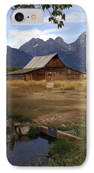 Teton Barn 2 Phone Case by Marty Koch