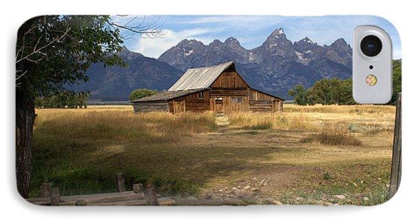 Teton Barn Phone Case by Marty Koch