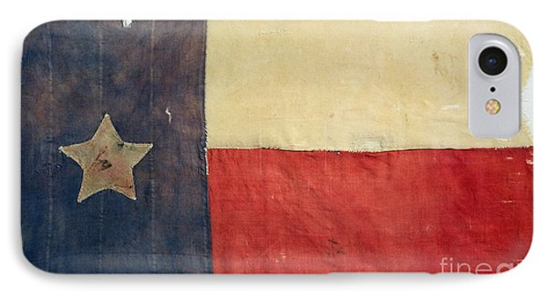 Texas Flag, 1842 IPhone Case by Granger