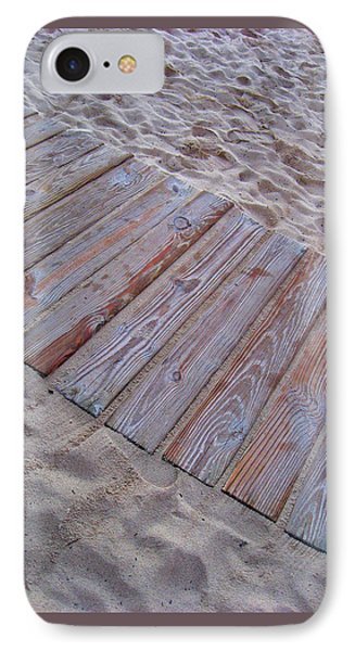 Texture. Beach. Sand.  IPhone Case by Andy Za