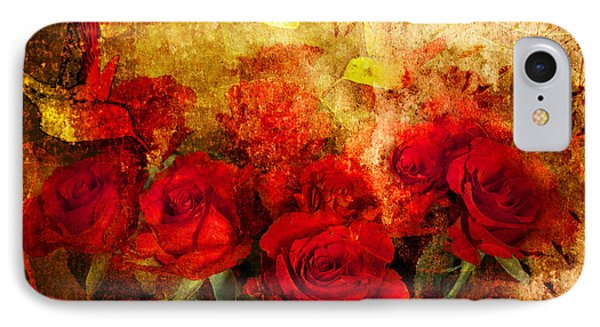 Texture Roses Phone Case by Svetlana Sewell