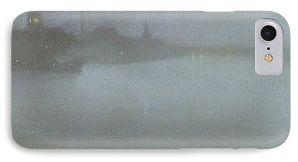 Thames   Nocturne In Blue And Silver IPhone Case by James Abbott McNeill Whistler