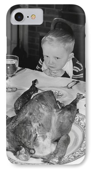 Thanksgiving Dinner IPhone Case by American School