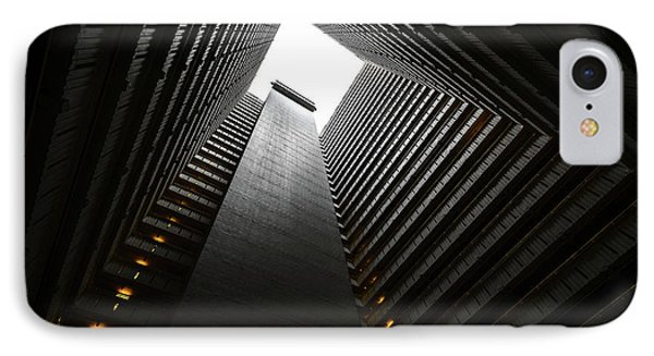The Abyss, Hong Kong IPhone Case by Reinier Snijders