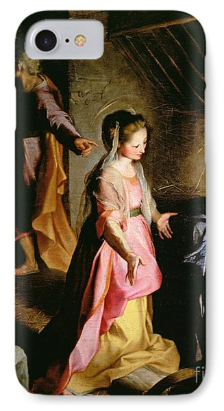 The Adoration Of The Child IPhone Case by Federico Fiori Barocci or Baroccio