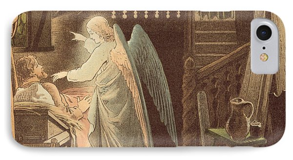 The Angel Appearing To Joseph IPhone Case by Victor Paul Mohn