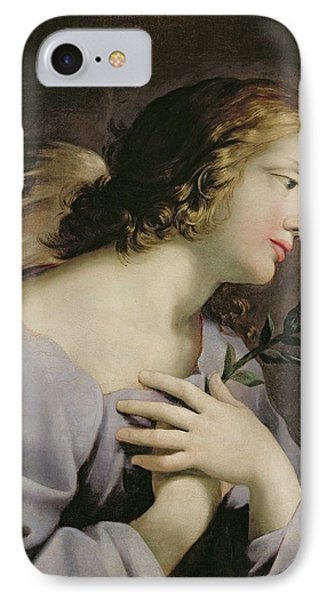 The Angel Of The Annunciation Phone Case by Giovanni Francesco Romanelli